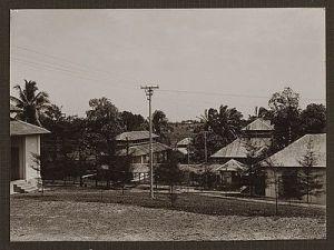 Hospitaal te Manggar (Billiton) in 1933 (52973)