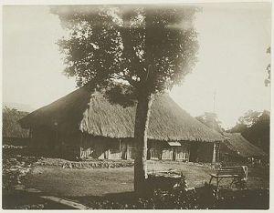 Ziekenhuis te Kapan (Timor) in 1909 (26838)