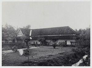 Hulphospitaal Randoe Goenting bij Klaten in 1920 (18763)