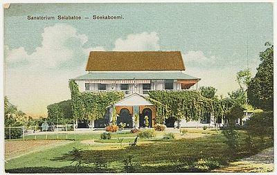 Sanatorium Selebatoe te Soekaboemi in 1930 (34117)