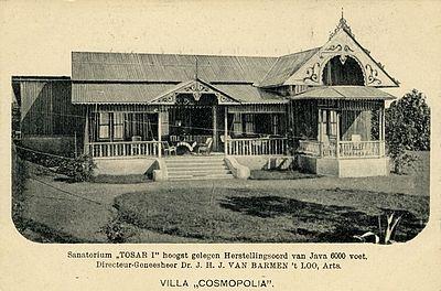 Sanatorium Tosari 1890